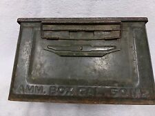 Vintage metal ammo box 50 cal m2