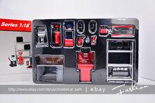 Garage Series 1:18 auto repair workshop Scenes toolbox