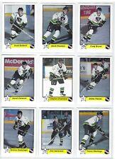 1997-98 Prince Albert Raiders (WHL) complete 22 card set