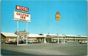 Deming, New Mexico Postcard CHILTON INN MOTEL Highway 70 Roadside c1960s Unused