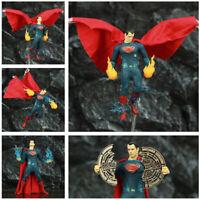 """One:12 DC Super Man 6"""" Action Figure Clothes Cloth Suit Batman vs Superman Dawn"""