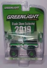 1/64 Greenlight 2019 Trade Show Exclusive 1974 Ford F250 Monster Truck Chase Car