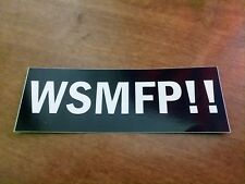 Widespread Panic Wsmfp Stickers All Vinyl.Free Shipping! Wsp Grateful Phish