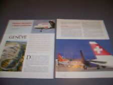 VINTAGE..AIRPORT: GENEVE AEROPORT (GVA/ICAO) HISTORY...RARE! (396Q)