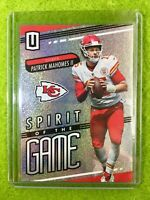 PATRICK MAHOMES 2019 Unparalleled Card JERSEY #15 CHIEFS  PRIZM REFRACTOR INSERT