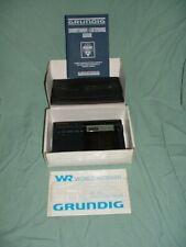 Grundig World Band Receiver Rk 709 New