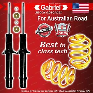 Front Gabriel Ultra Shocks + Lowered King Coil Springs for Honda Accord CL9 4CYL