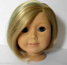 American Girl Kit doll replacement Head rainbow hair custom