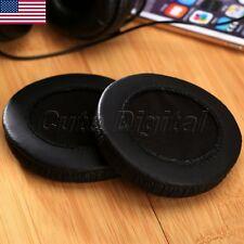 Black Soft Headphone Earpad Cushion For Sennheiser HD205 HD215 HD225 HD440 1Pair