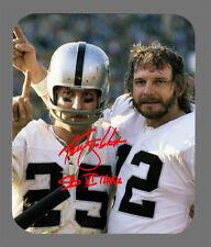 Item#5925 Ken Stabler New Orleans Saints Facsimile Autographed Mouse Pad