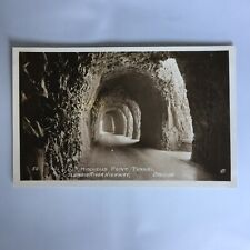 Mitchell's Point Tunnel Columbia River Highway Oregon RPPC Real Photo Postcard