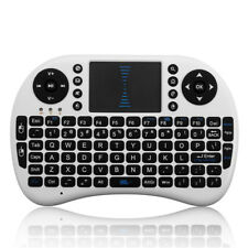 Mini 2.4G Wireless Keyboard With Touchpad Fly Mouse For PC Android TV White