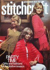 Vintage Stitchcraft Magazine. November 1972