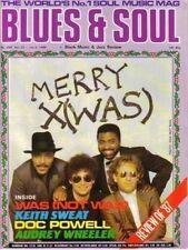 Was (Not Was) Blues & Soul 1987  Keith Sweat Doc Powell Kool Moe Dee Lanier & Co