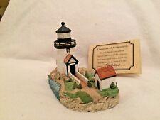 Harbour Lights 162 Brant Point Light, Ma Lighthouse 1995 Coa Box