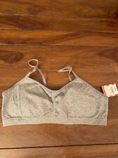 NWT Girl's Cat & Jack Bra In Heathered Gray, Size XL