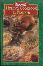 Campbell's Holiday Recipe & Planner Booklet 1996 Timetable Coupons Cheese Guide