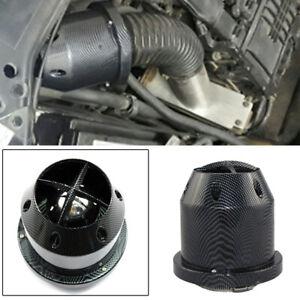 1 x Carbon Fiber 3inch/76mm Car SUV Cold Air Intake Filter Cleaner Mushroom Head