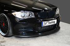 Spoilerschwert Frontspoiler Cuplippe ABS Carbon Look  BMW 1er E82 E88 M-Paket