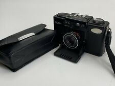 Ricoh FF-1S electronic 35mm point and shoot Camera F 2.8 f=35mm #60116192-27