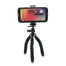"MG2TRI: 7.5"" Mini Tripod with Holder for iPhone 6 6S Plus, Galaxy Note 5 4 S6 S5"