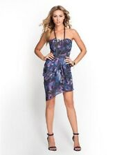 NWT:  GUESS Bombay Floral Strapless Dress in Bright Fuchsia Multi   Sz: 10