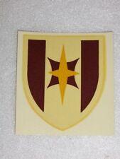 Décalcomanie de Casque US M1 :  44th Medical Brigade