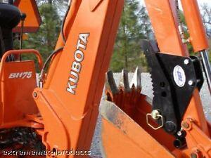 Kubota BH75 Backhoe Thumb / Compact tractor backhoe thu