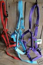 """""""3"""" Suckling & Weanling Horse Foal Nylon Halters w/catch strap"""