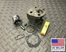 Husqvarna 51, 55, 55 Rancher cylinder and piston kit 46mm with gaskets NGK plug