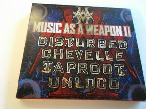 MUSIC AS A WEAPON,VARIOUS ARTISTS,2 CD SET,2004