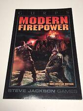 GURPS Modern Firepower - Steve Jackson Games - Great Shape