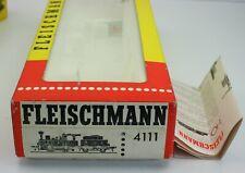 Fleischmann 4111 Leerkarton OVP Anleitung für Dampflok / Werklok Edelweiß Maffei
