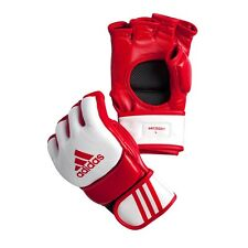 New adidas Mma Super Pro Professional Mma Gloves Mma Ultimate Fight Gloves-Red