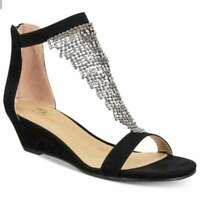 Thalia Sodi Womens Tacey Fabric Open Toe Casual Ankle Strap Sandals