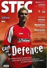 Football Programme>SWINDON TOWN v YEOVIL TOWN Aug 2005