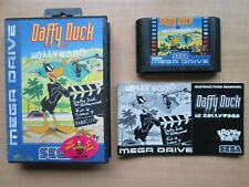 SEGA Megadrive - Daffy Duck in Hollywood - Boxed & Manual INCLUDED
