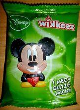 1x Rewe wikkeez Mega GLITTER Micky personaggio Sammelfigur glitzerbild NUOVO OVP