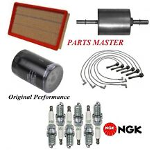 Tune Up Kit Air Oil Fuel Filters Spark plugs For CHRYSLER LHS V6; 3.5L 1996-1997