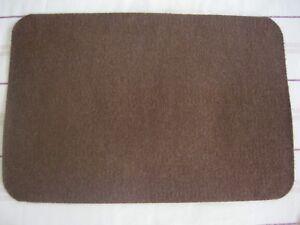BROWN  FLOOR MAT ADEN 40CM X 60CM 100% POLYPROPYLENE NEW
