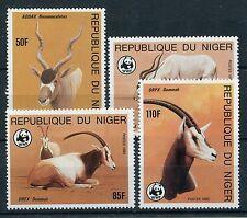 Niger 941/44 postfrisch / WWF ............................................1/3610