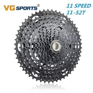 Mountain Bike 11 Speed Big MTB Cassette Flywheel 11-52T Black for SRAM,Shimano