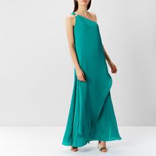 coast lindos one shoulder maxi dress size 6
