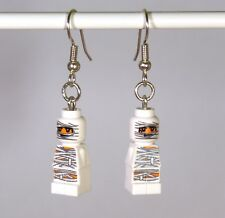 Earring form LEGO bricks - White Mummies