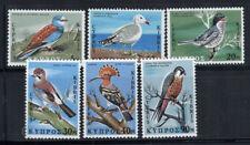 Cyprus 1969 Mi. 322-327 MNH 100% Birds