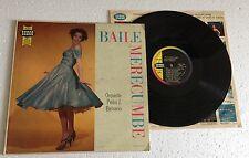 """RARE LP 12"""" ORQUESTA PEDRO J. BELISARIO BAILE MERECUMBE 1960 CUMBIA MERENGUE"""