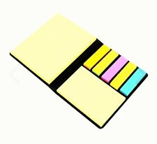 Sticky Notes Memo Set colourful sticky notes handy storage Wallet (150 Sheets)