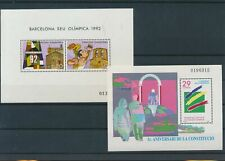 LL92967 Andorra constitution olympic games sheets MNH