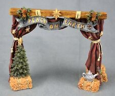 Boyd's Bear Nativity Series 1 Peace On Earth Stage Christmas Nativity Bearstone