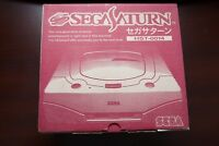 Sega Saturn console white boxed HST-0014 very good Japan SS system US Seller